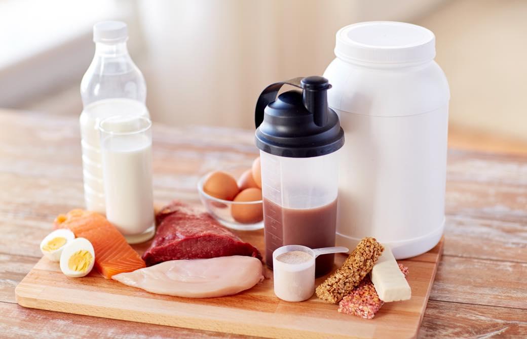 肉卵牛乳プロテイン