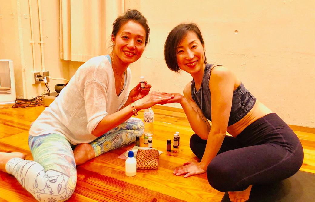 tara先生と長又みほ先生の2ショット